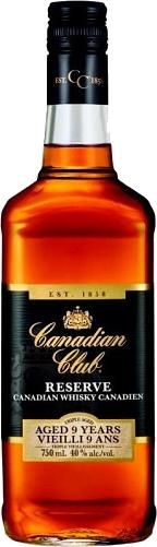 CANADIAN CLUB RSV 9YR 80