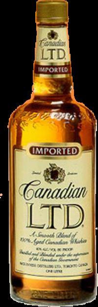 CANADIAN LTD WHISKY 1.0L Spirits CANADIAN WHISKY