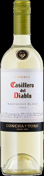 CASILLERO DEL DIABLO SAUV BLANC 750ML Wine WHITE WINE