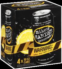 MIKES HARDER LEMONADE 16OZ 4PK CN-16OZ-Beer