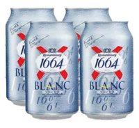 Kronenbourg Blanc 16oz 4pk cn