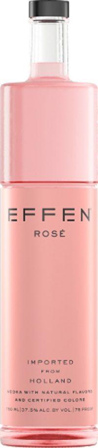 Effen Rose Vodka 750ml