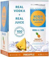 High Noon Vodka & Soda Pineapple