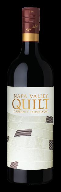 quilt red wine